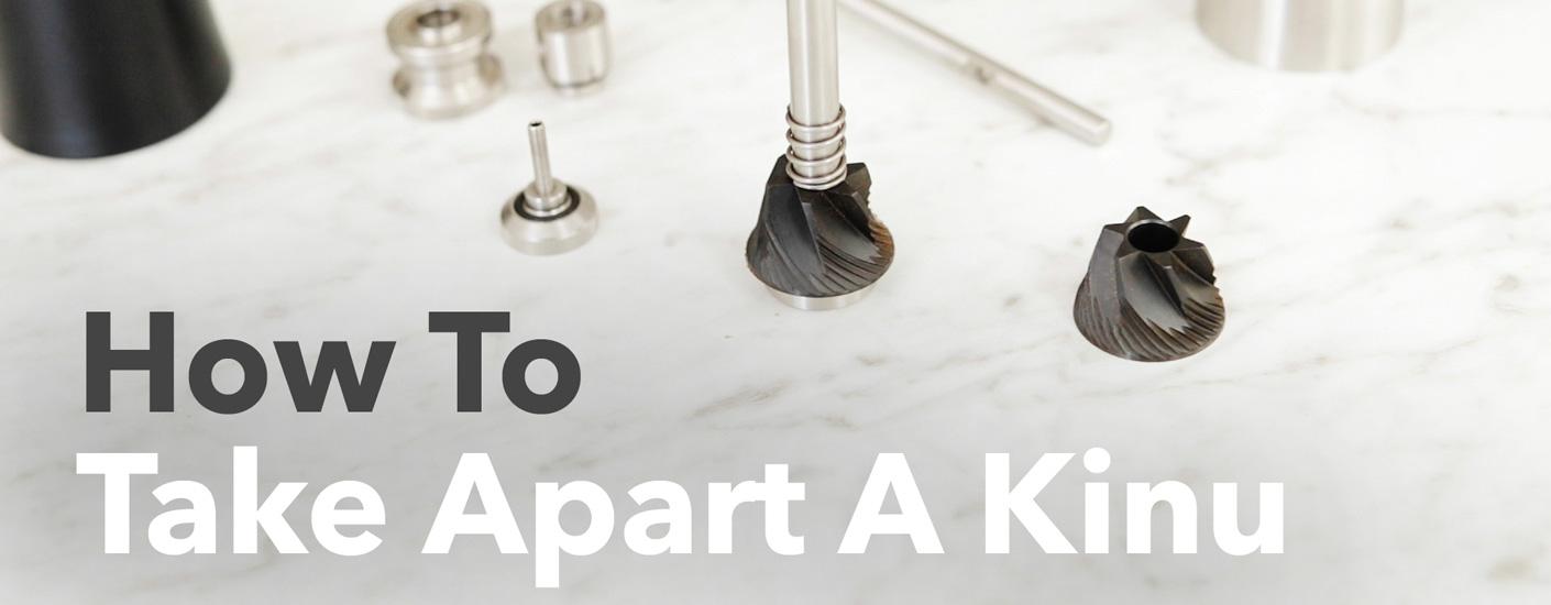 How To Take Apart A Kinu Hand Grinder