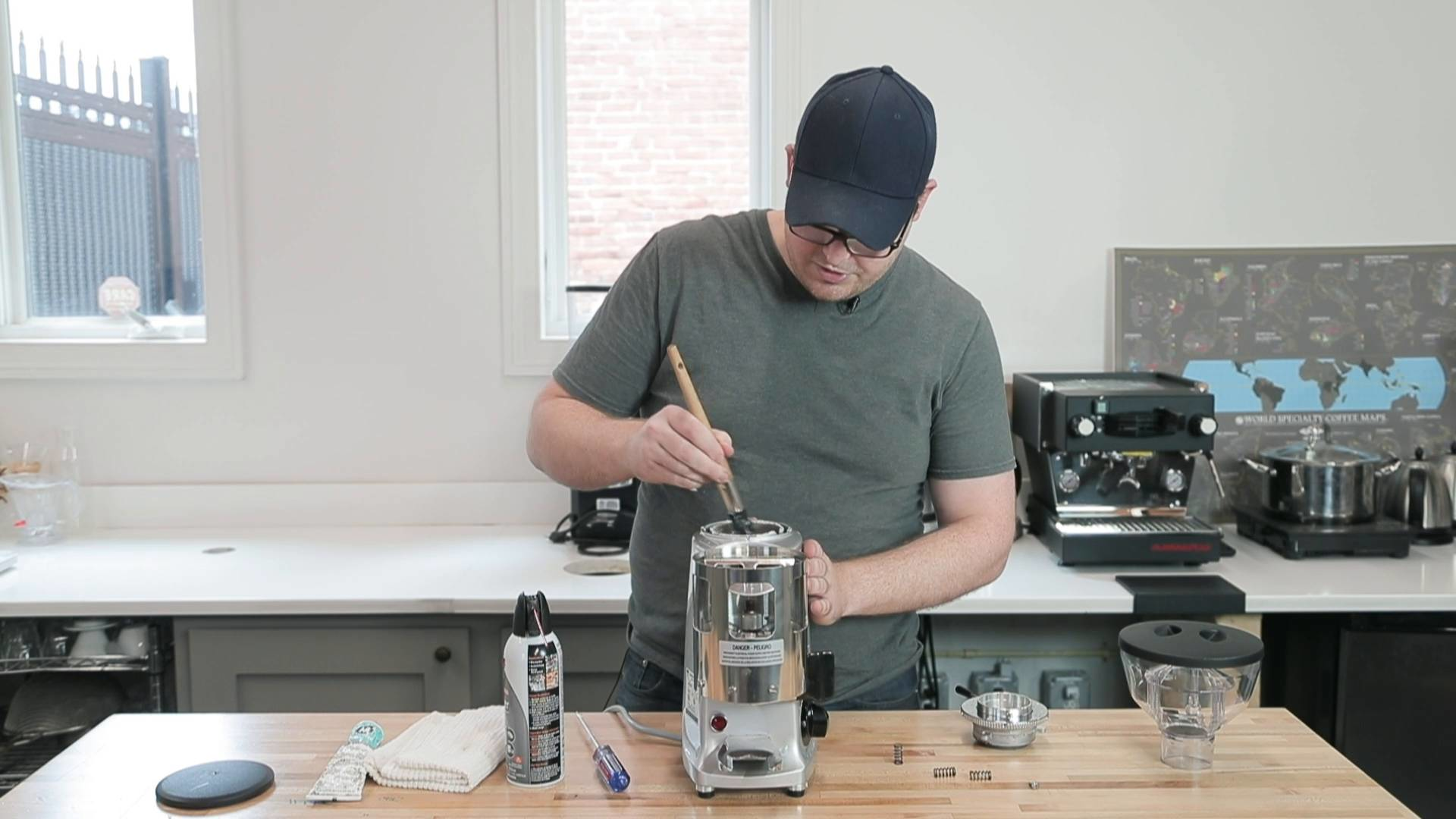 How To Clean And Calibrate Your Mazzer Espresso Grinder