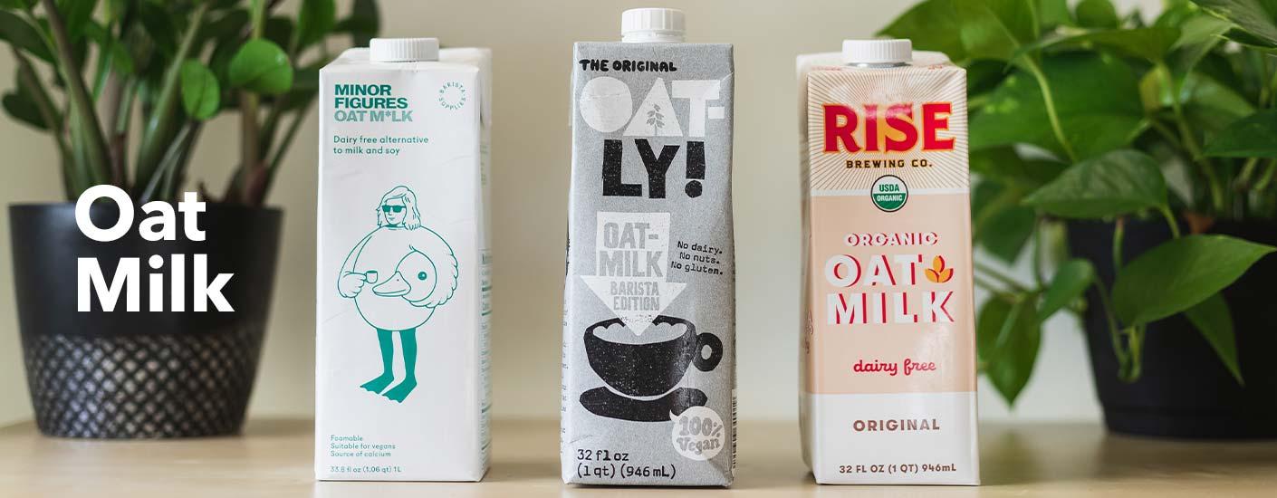 oat milk section header