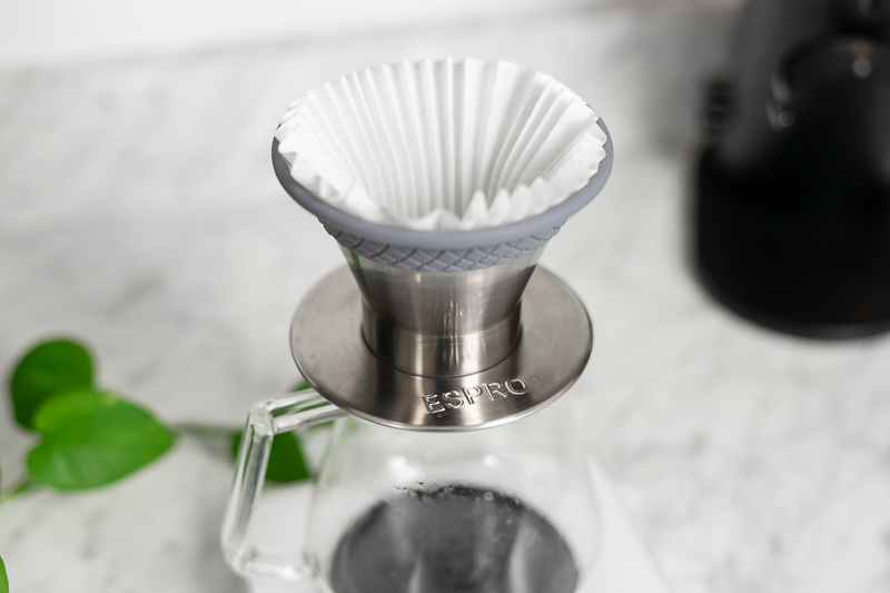 Espro BLOOM with paper filter