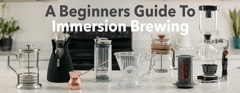 Beginner's Guide to Immersion Coffee Brewing