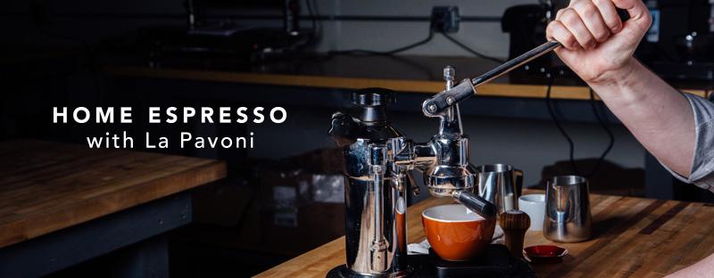La Pavoni Home Espresso Machine