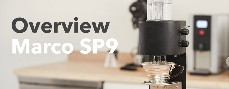 Overview of Marco SP9 Coffee Brewers
