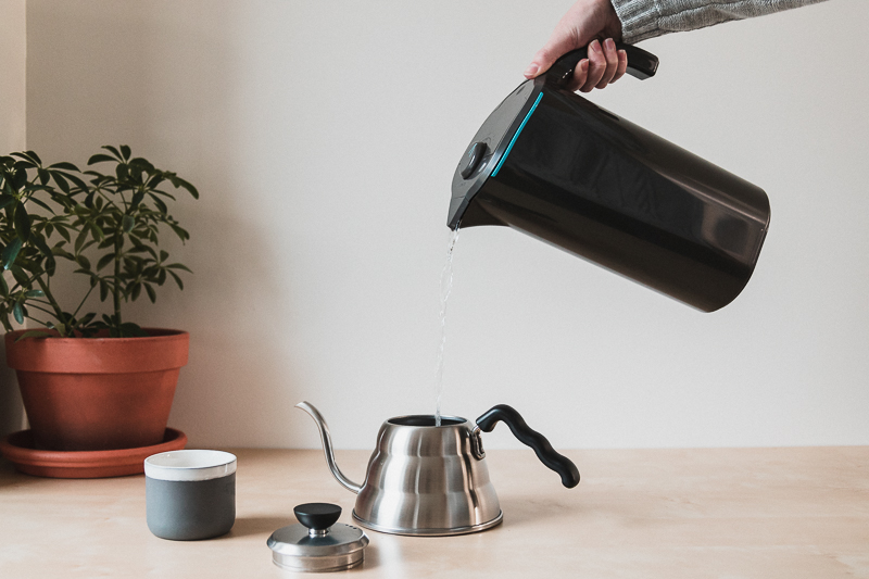 Pouring Water Pitcher