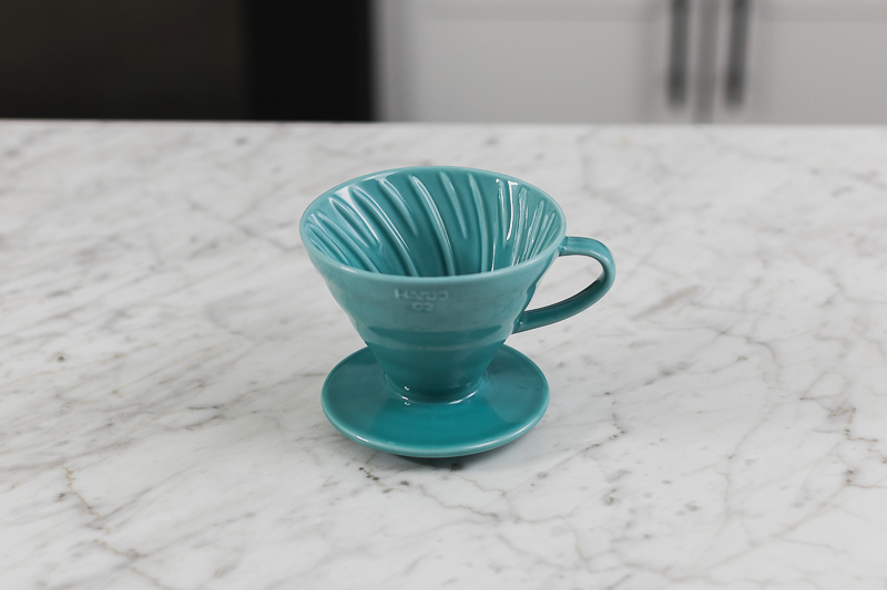 Hario V60 02 Teal Ceramic Brewer