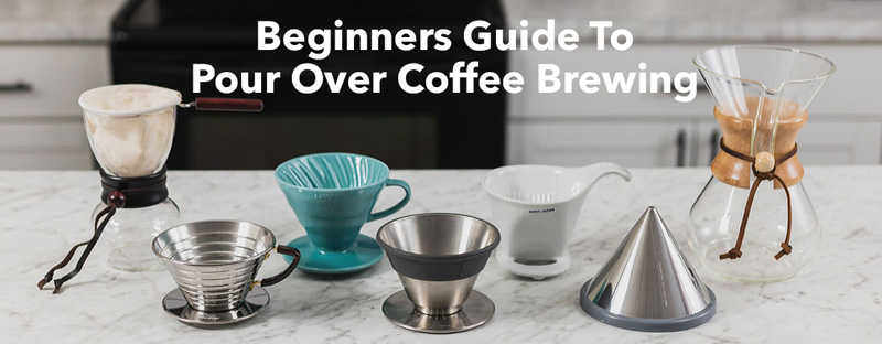 A Beginner's Guide to Pour Over Coffee Brewing