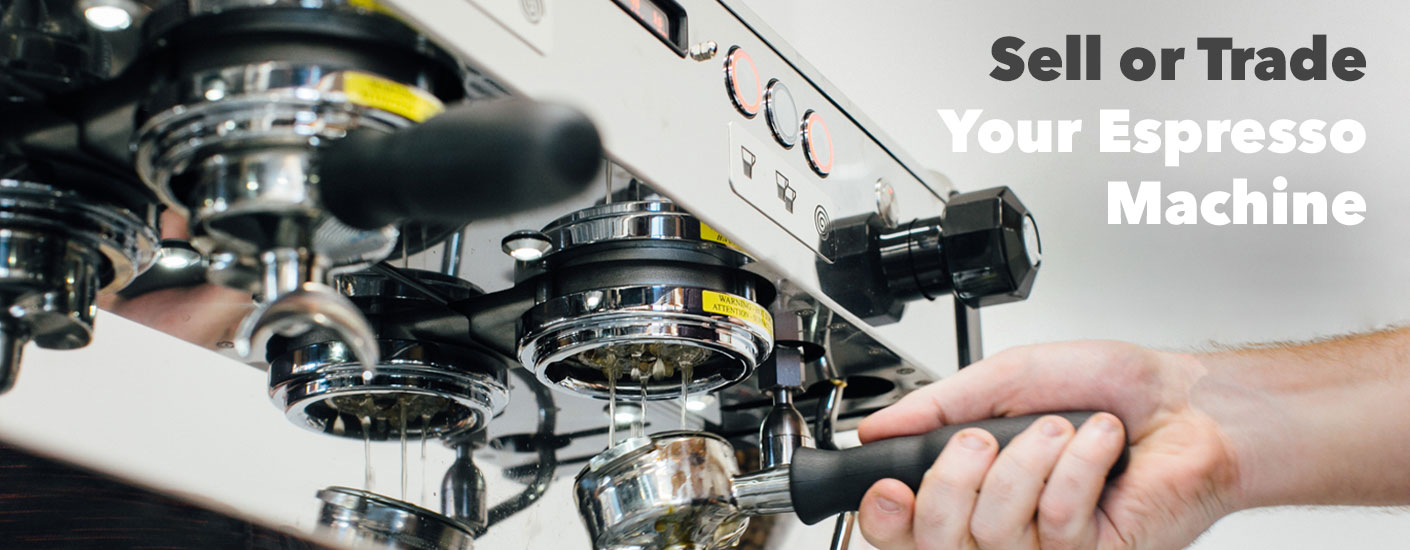 Sell or trade your espresso machine