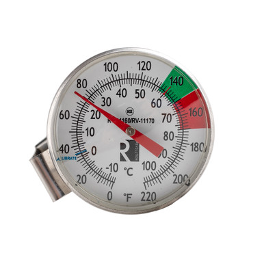 milk thermometer with clip