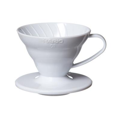 White Plastic Hario V60 01