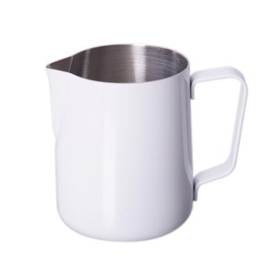 white 12 oz JoeFrex steaming pitcher