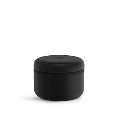 black .4oz vacuum canister
