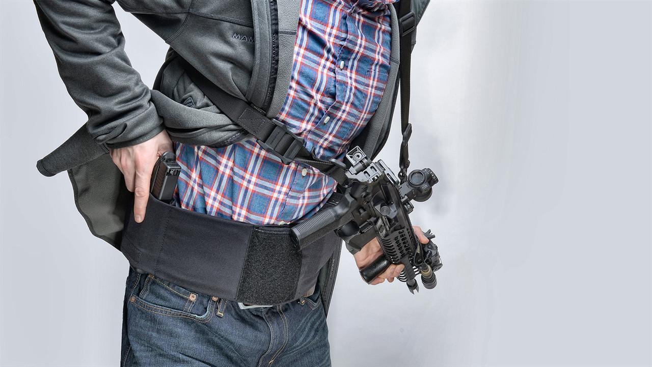 CL-BLT-B-L Black 40-48 in Waist Unity Tactical Clutch Belt Large