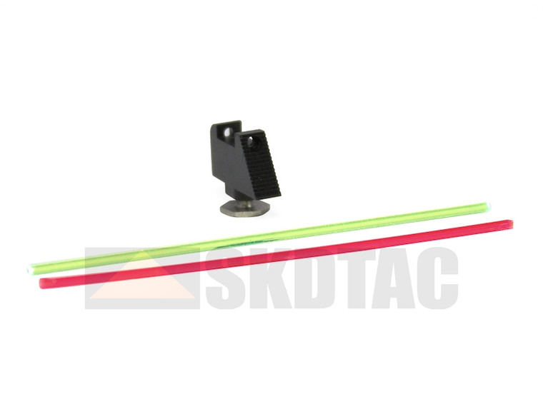 """Warren Tactical Sight, Fiber Optic Front For Glock (.245"""")"""