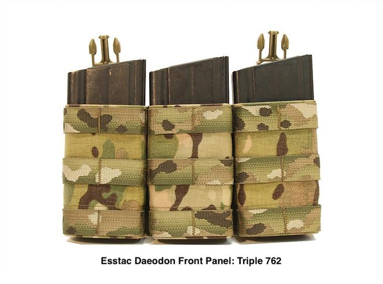 Esstac Daeodon Front Panel Pouch: Triple 762