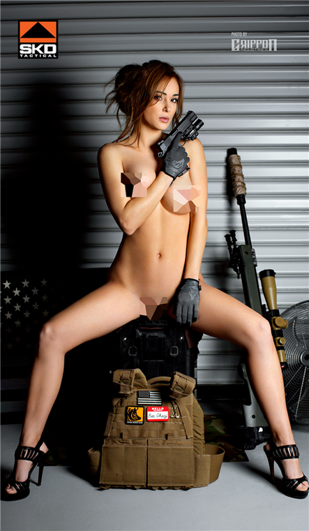 "SKD ""Private Security"" Poster, NSFW (Nudity)"