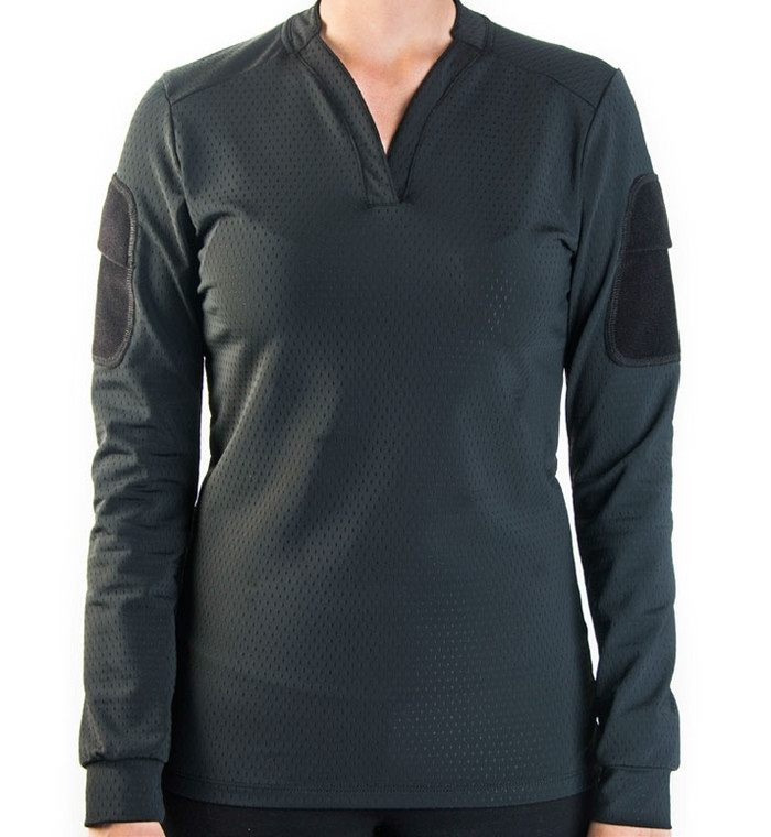 Velocity Systems Women's BOSS Rugby Shirt - Long Sleeve