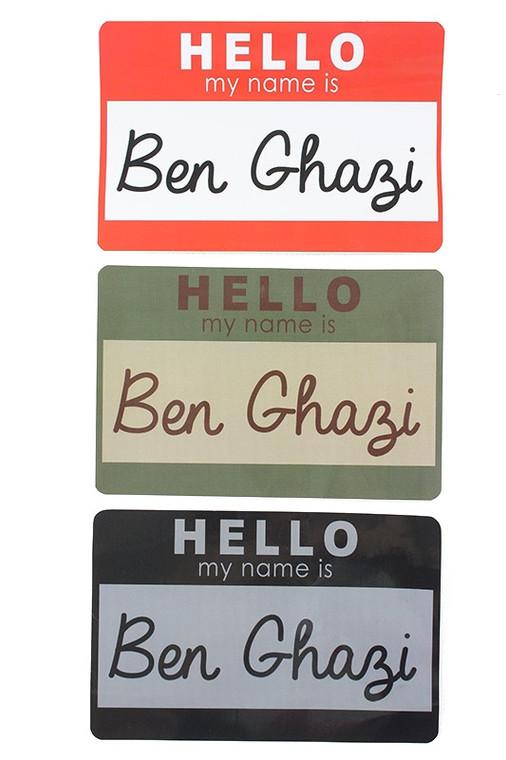 SKD Benghazi Sticker