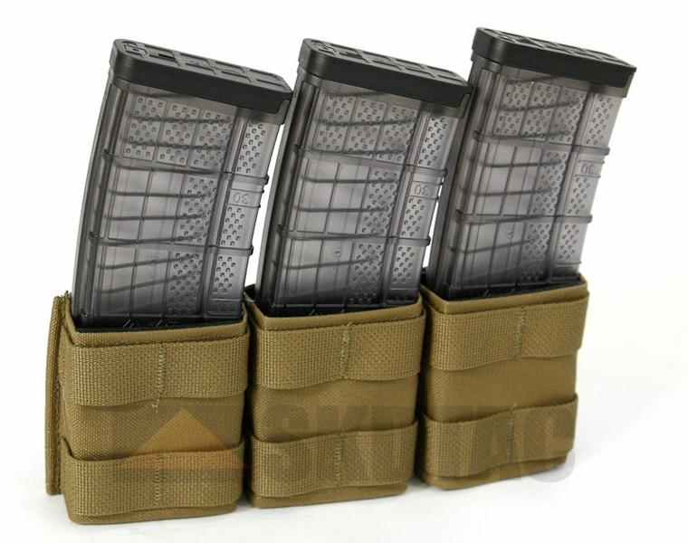 Esstac M4 KYWI Triple Mag Pouch- SHORTY