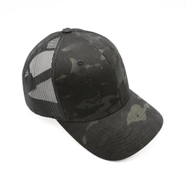RE Factor Tactical Trucker Hat - Multicam Black