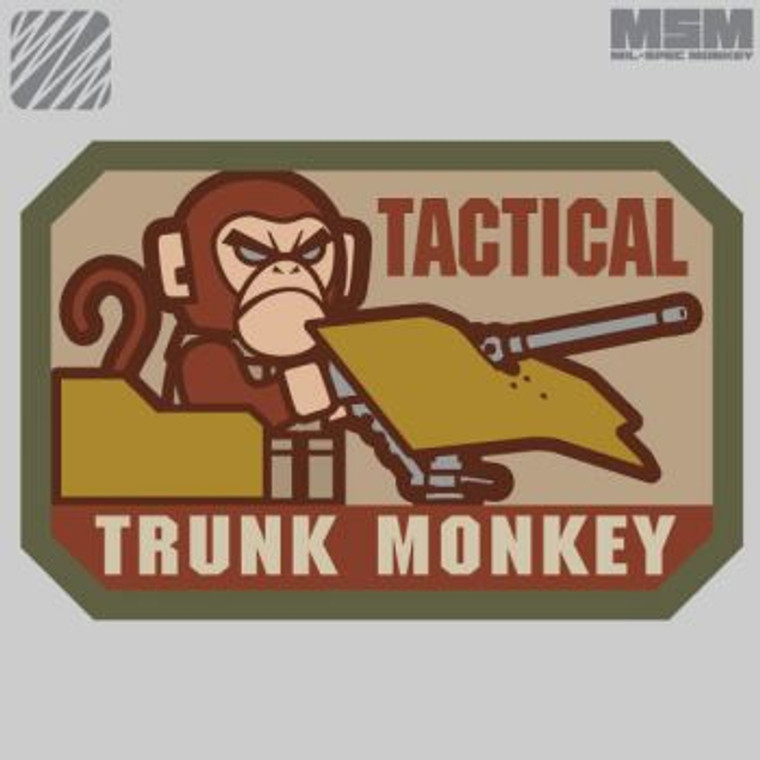 MSM Patch Tactical Trunk Monkey