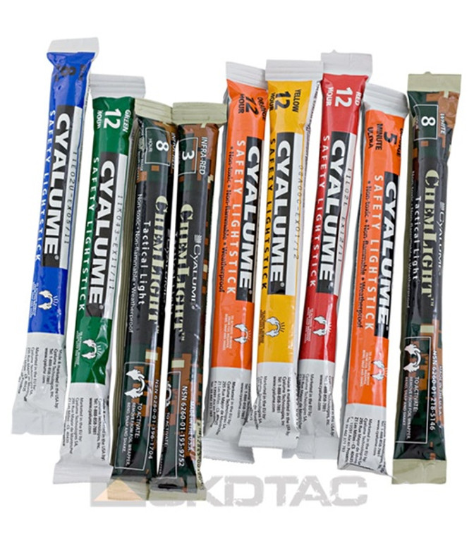 """Cyalume 6"""" ChemLight Light Stick - 10 Pack"""