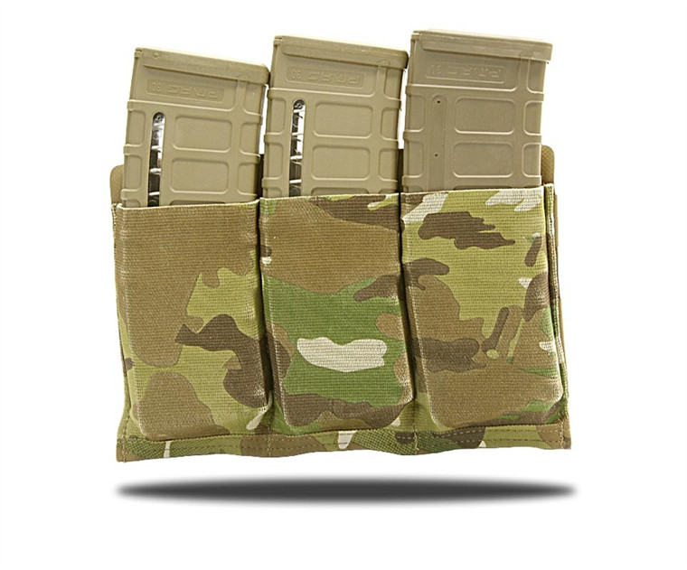 Blue Force Gear Ten-Speed Triple M4 Mag Pouch with Helium Whisper Backing