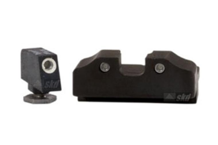 "Warren Tactical Sight, Tritium 3 Dot Set For Glock (0.215"")"