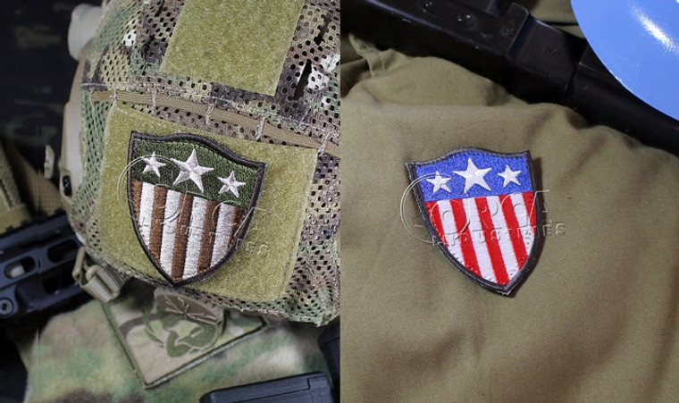 Orca Industries Captain America Heater Shield Patch