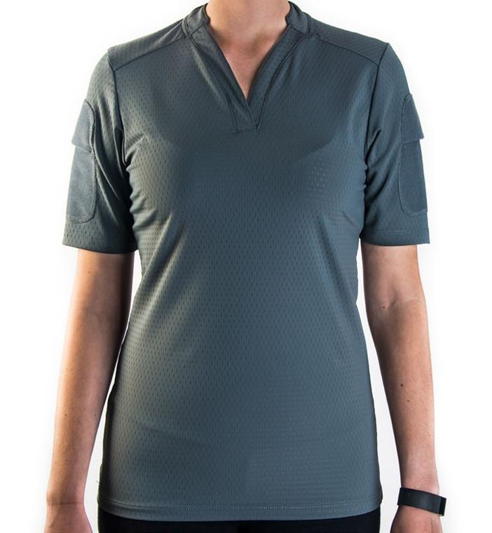 Velocity Systems Women's BOSS Rugby Shirt - Short Sleeve