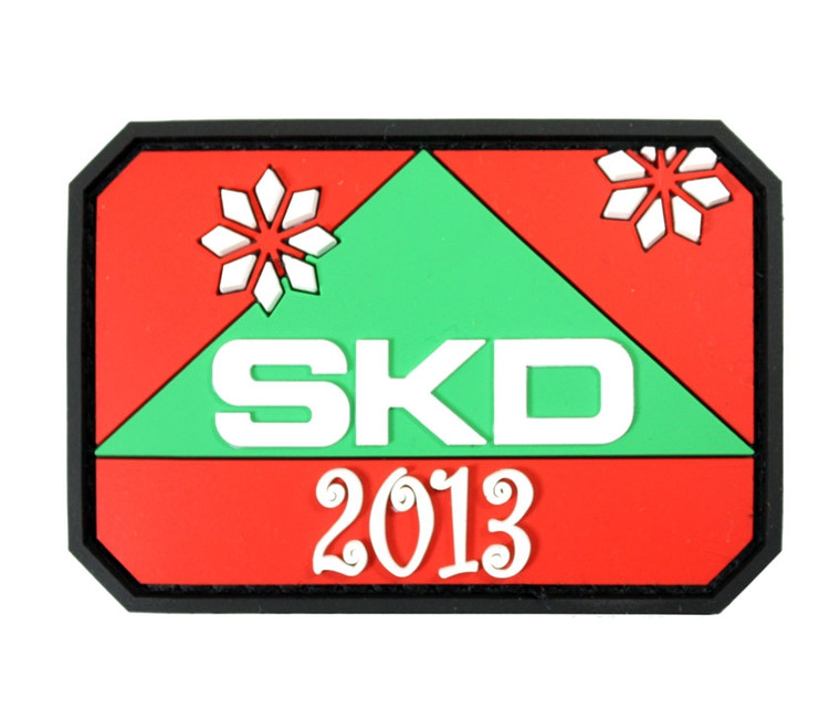 Limited Edition SKD Christmas Patch