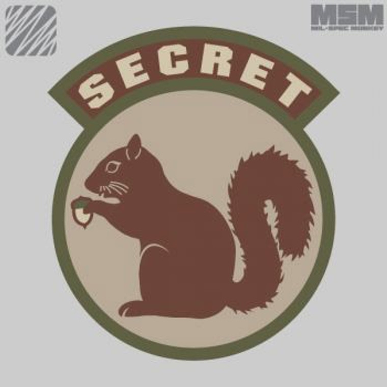 MSM Secret Squirrel Patch