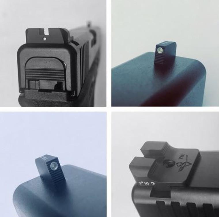 Sevigny Performance Defense Tritium Sights