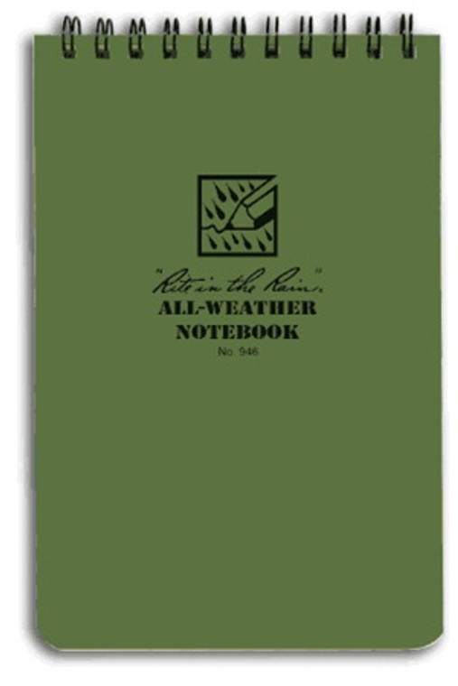 """Rite in the Rain Tactical Pocket Notebook 4""""x 6"""""""