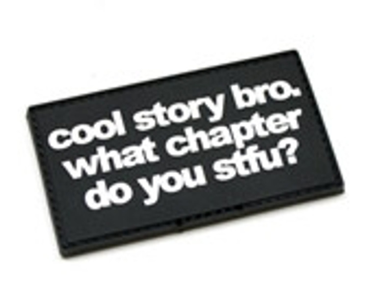 Cool Story Bro Patch (PVC)