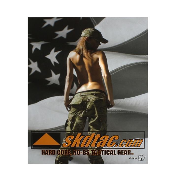 SKD Tactical Patriot Girl Poster