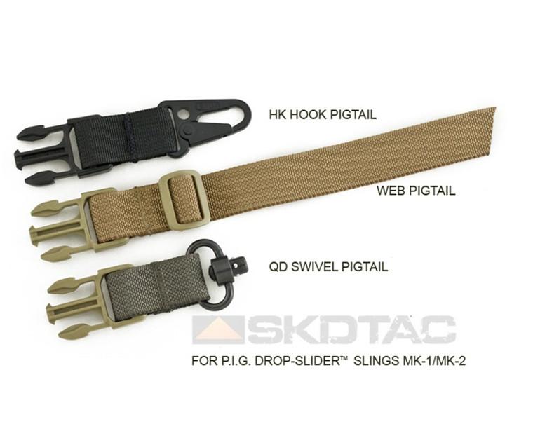 PIG HK Hook Pigtail for Drop-Slider Sling