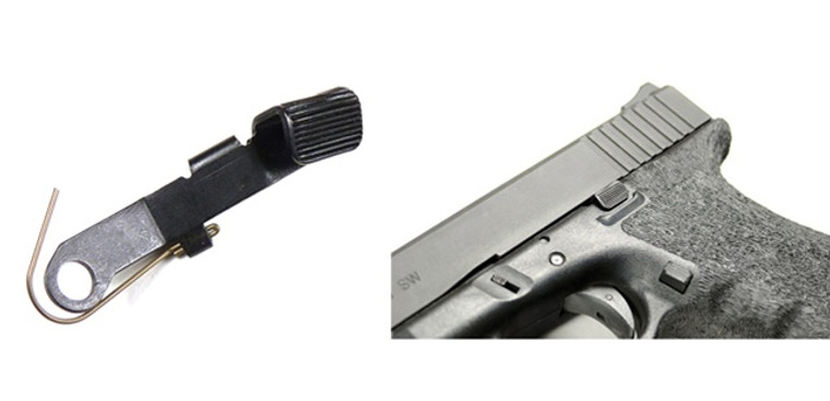 Vickers Tactical Slide Stop For Glock by TangoDown (VTSS-001)