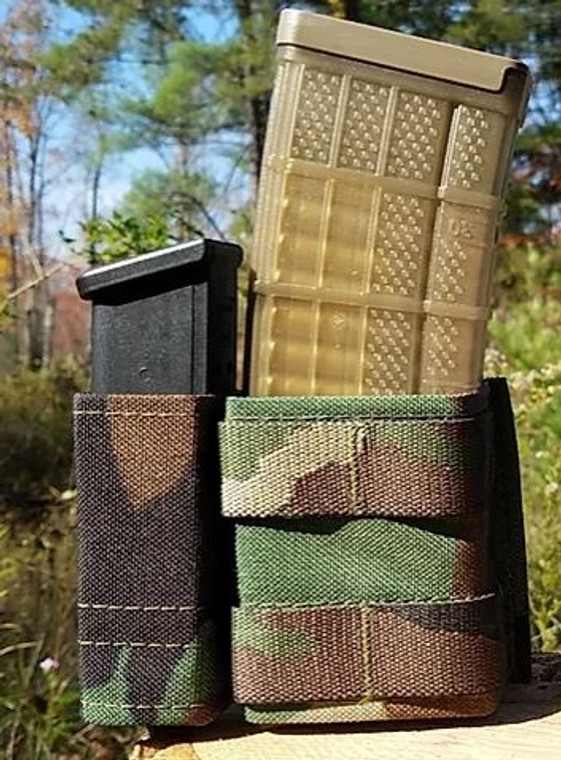 Esstac 5.56 1+1 Side BY Side KYWI Pouch - SHORTY