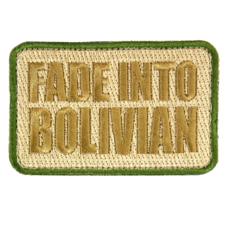SKD Fade Into Bolivian Patch