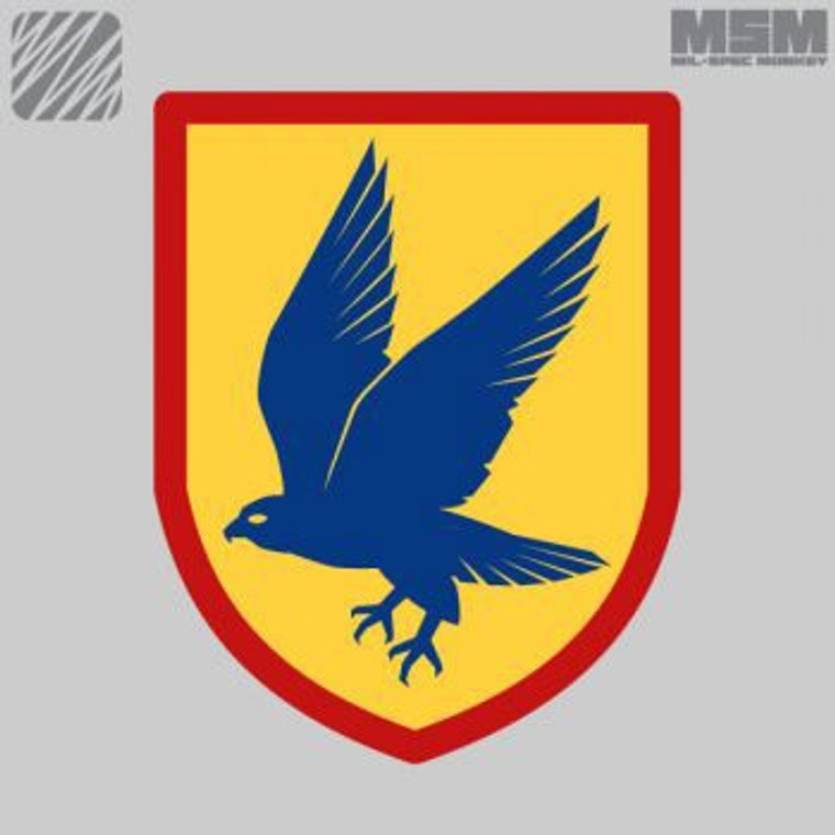 MSM Blue Falcon Patch