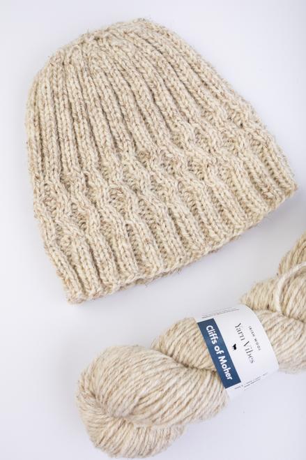 Shannon Aran Beanie Knitting Pattern