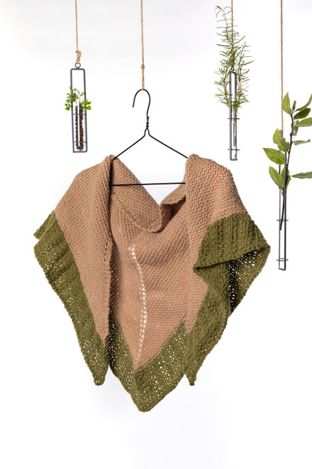 Ashlyn Triangle Shawl Knitting Pattern