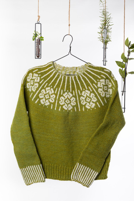 Dervla Colorwork Sweater Knitting Pattern