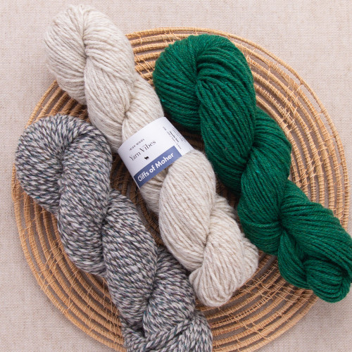 Cliffs of Moher Irish Yarn