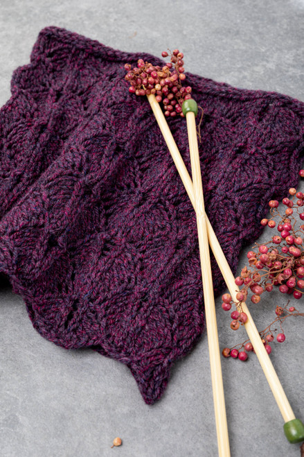Aileen Lace Leaf Cowl