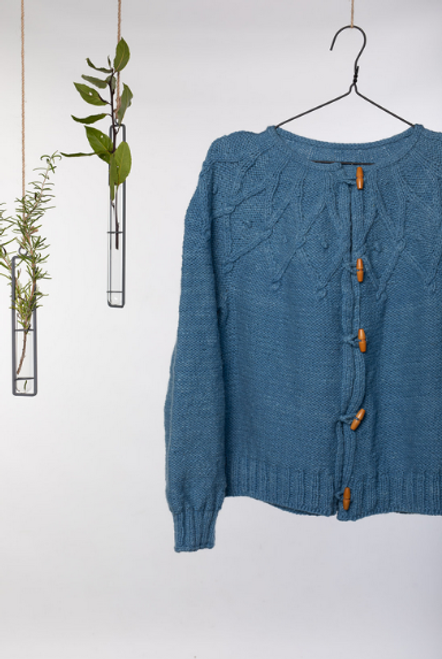 Fia Cabled Cardigan Knitting Pattern