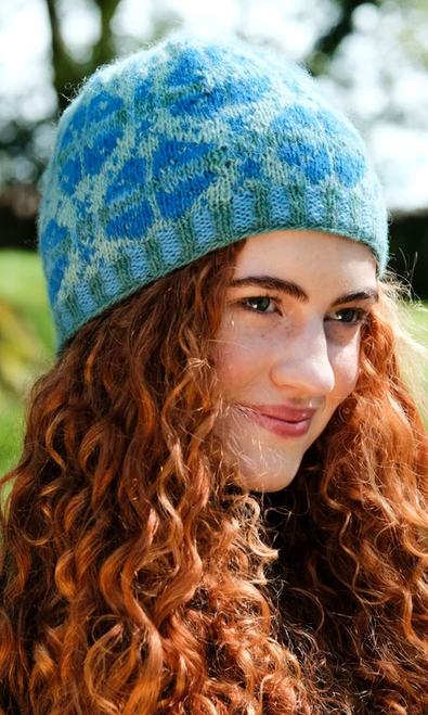 Kaitlyn Colorwork Beanie Knitting Pattern