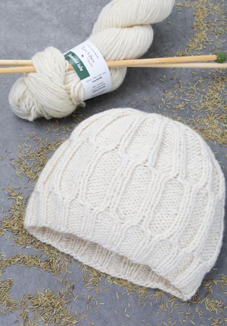 Orla Lattice Hat Knitting Pattern