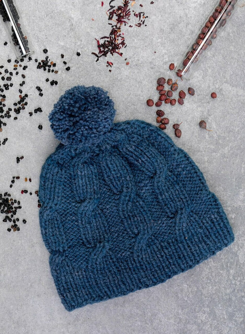 Riley Aran Hat Cliffs of Moher Knit Kit