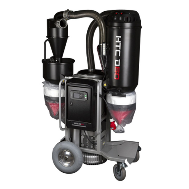 HTC D60 Dust Extractor, 3-Phase 480V
